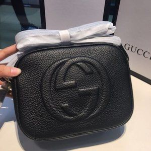 💛Authentic Gucci Soho Black Bag Disco with Insert